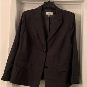 NWT Black Le Suit 18W